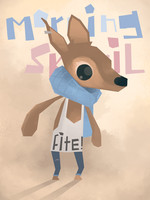 Fighty Deer by westykid