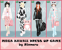 Mega kawaii dress up game by Rinmaru