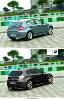 BMW E87 by ozyre