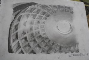 Pantheon Ceiling by migzmiguel08