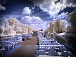 boat trip infrared by MichiLauke