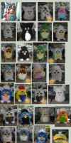 Kasaras Furby Collection 1 by KasaraWolf