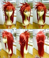 Kurama Wig Commission by red-cluster