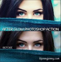 AFTER GLOW PHOTOSHOP ACTION by ibjennyjenny