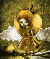 the apple thief by berkozturk