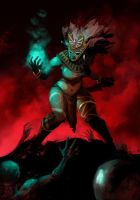 Witch Doctor Female by licarto