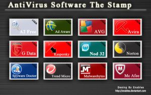 AntiVirus Software The Stamps by enables