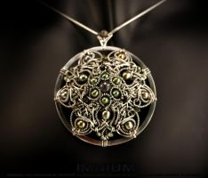 Circle of life pendant by IMNIUM