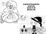Inktober 2016 day 8(ROCK) by Pauly-chan