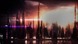 Scenic Series (Mass Effect): Illium by GSJennsen