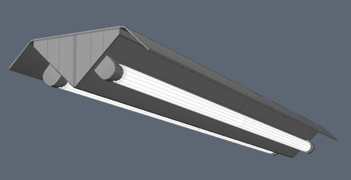 Ceiling Light - 3d file by HumbertTheHorse