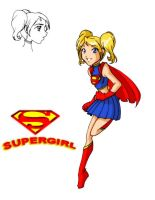Supergirl Design by justaminuet