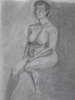Figure drawing by padfootlestrange