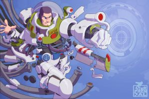 Buzz Lightyear by timterrenal