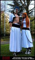Grimmjow x Orihime by Satsuma-Lights