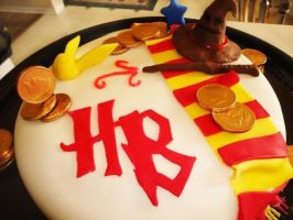 Harry Potter Cake by smudges