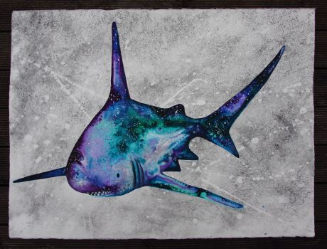 Galactic Shark:The Star Eater by amyhooton