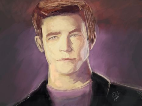 Grant Gustin - BARRY ALLEN by Gothic007