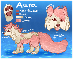 Aura the WaterDog by Igneous-Dragon