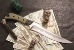 H.S.L.D Fighter by GageCustomKnives