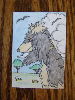 ACEO Naos by WolfSongLuna