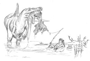 Cretaceous fishing by batworker