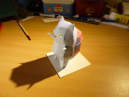 Catbug papercraft by MrQqn