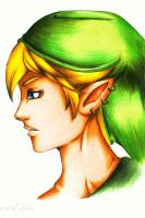 Link - Headsketch color by Shiranui94