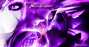 Girl Dubstep Gas Mask by Wexxer