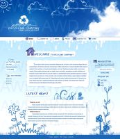 Recycling Website by awdstudios