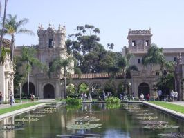 Balboa Park Landscape 2 by chamberstock