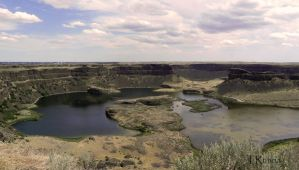 Dry Falls Lakes by TRunna