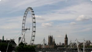 The London eye and Big Ben by ISAWTHESTARSTONIGHT