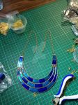Blue Collar Necklace by TashJann