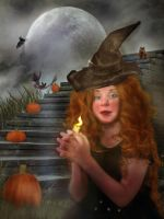 Chant for the Pumpkins by LindArtz