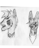 Rough Sketch/Concept art of my new oc by ScootsNB