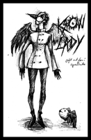 Krow Lady: Gift for cynaddicts by Mothboss