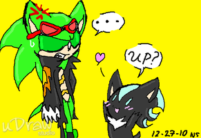 Scourge and Shady: Practice by Raichufan1