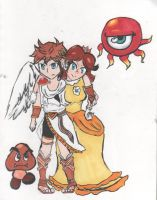 Pit and Daisy by Jemichanx3