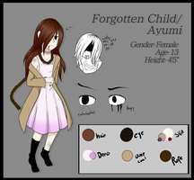 .: Forgotten Child : Cp Oc :. by Glitched-Artist
