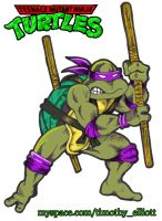 Donatello Playmates Toy Style by UBob