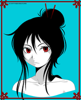 Black Haired Girl by Savvylee