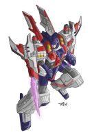 Galaxy Force Starscream by equanimity505