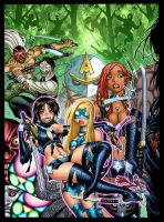 EMPOWERED vol. 7's cover, in luxurious color by AdamWarren