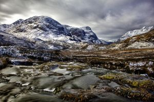 Glencoe the Three Sisters by derekbeattieimages