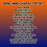Sonic MikuMikuDance Character Set by Old-MMD-Models