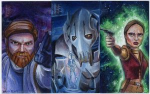 Clone Wars Return Cards Set 1 by DavidRabbitte