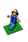 Speed paint challenge - Lego Ash by charlot-sweetie
