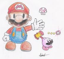 Paper Mario, SSBB-moves by CyberMaroon