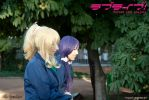 Tojo Nozomi and Ayase Eli - Love Live! // 9 by xAnotherSkin